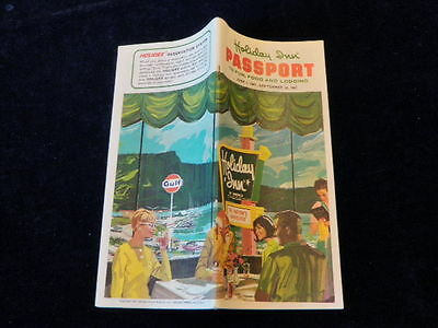 Vintage Holiday Inn Directory 1968 Hotel Motel Location Guide Mint Condition a74