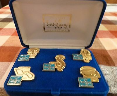 Disney Pin -The 5Th Anniversary Of The Walt Disney Classic Pin Collection - New