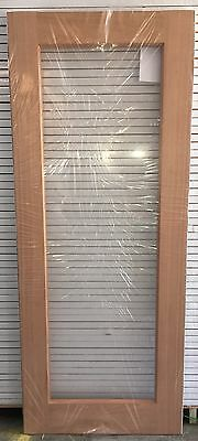 Internal One Lite French Glass Meranti Solid Timber Door