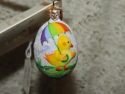 Patricia Breen Jeweled Mini Egg Called Ducky Weather