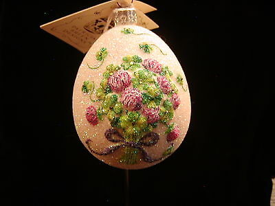 Patricia Breen Jeweled Clover Easter Egg