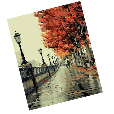 DIY Digital Drawing Oil Painting By Number On Canvas Lerning Class Craft #2