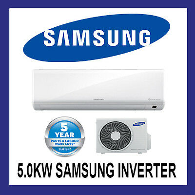 New Samsung 5.0Kw  Inverter Split System Air Conditioner Reverse Cycle Ar18Ksfta