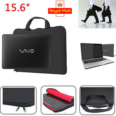 15.6 Inch Laptop Sleeve Bag Case Cover For Apple HP DELL Toshiba ASUS Sony New