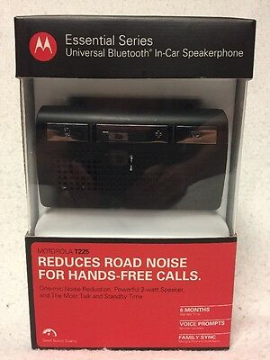 Motorola T225 Bluetooth Handsfree Car Speakerphone Kit #89441N New in Box