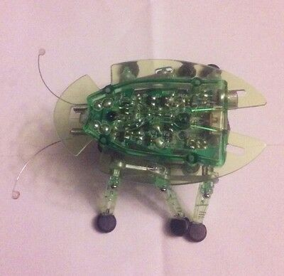 HEXBUG Micro Robotic Beetle - Green Robot Toy Mechanical damaged power button