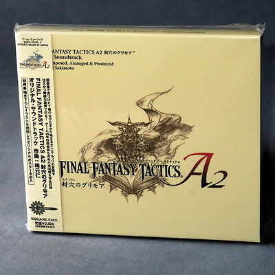 Final Fantasy Tactics A2 Nintendo DS Soundtrack Japan GAME MUSIC CD NEW