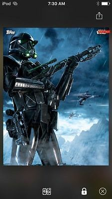 Premiere Death Troopers Insert Topps Star Wars Digital Card Trader Rogue One