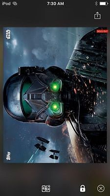 Topps Star Wars Digital Card Trader Rogue One Premiere Death Troopers Insert