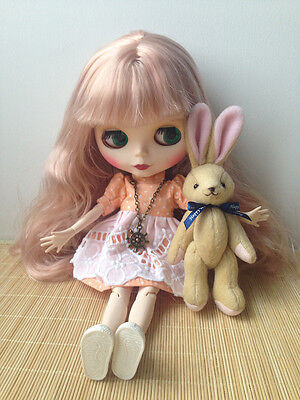 """NEW Takara 12"""" Nude Blythe Factory Doll Long Hair Matte Face Jointed Body"""
