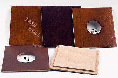 "1 LENS BOARD 4x4"" of  Plywood Birch (cherry finish) for WISNER, or CALUMET 4x5"","