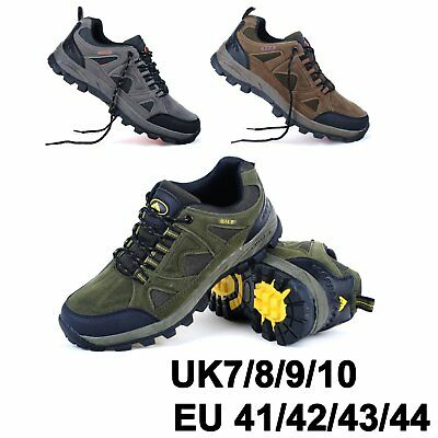 Mens Boots Waterproof Walking Hiking Trainers Work Ankle Boots Shoes  Uk Eu Size
