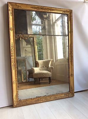 Beautiful French Antique Gilt mirror