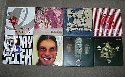 APHEX TWIN / WARP RECORDS - Collection Of 7 LPs