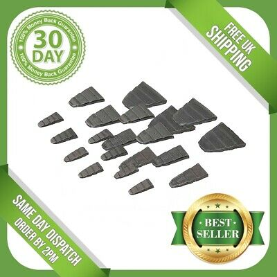 20Pc Metal Wedge Set Hammer Sledge Lump Claw Pick Axe Mattock Handle Replacement