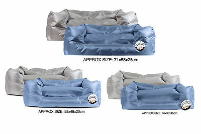 Dog Bed Pet Cushion Waterproof Large Water Resistant Comfort Durable 2 Designs