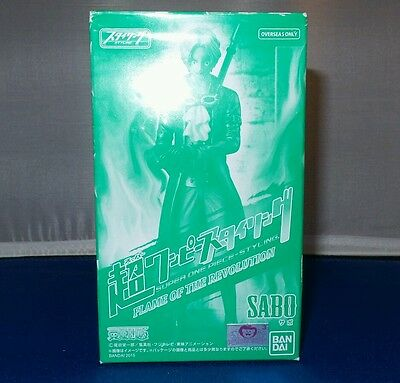 Bandai Super One Piece Styling Flame Of The Revolution Sabo New In Box