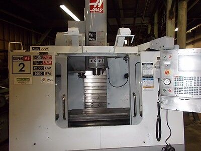 Hass VF-2SS Vertical Machining Center