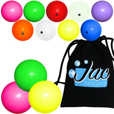 Set of 3 Jac Products 62mm DX Chroma Juggling Balls