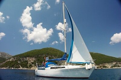 Moody 30 Sailing Yacht - In the Ionian Greece