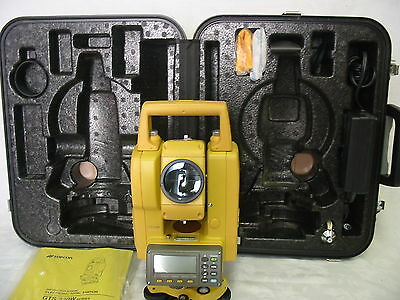 Topcon Gts-239W Total Station Complete For Surveying One Month Warranty