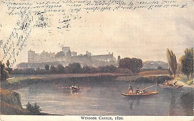 BR94428 windsor castle 182 painting postcard   uk