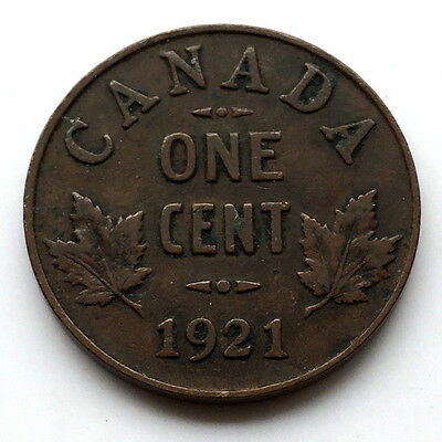 1921 Canada One Cent #N64