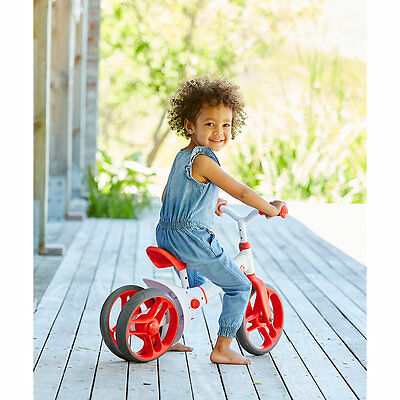 New ELC Unisex Yvolution Y Velo Twista Balance Bike - Red Toy From 18 months