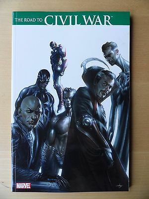 THE ROAD TO CIVIL WAR  Marvel TPB Graphic Novel