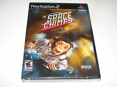 Space Chimps (Sony PlayStation 2, 2008) PS2  NEW-FACTORY SEALED- FREE SHIPPING