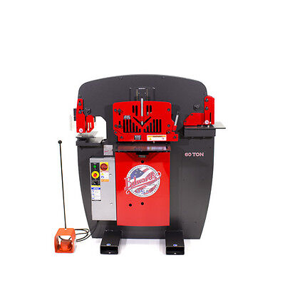 New Edwards 60 ton Ironworker IW60-3P230