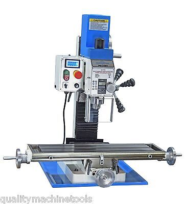 Pm-25-Mv Vertical Bench Top Milling Machine, 3 Year Warranty Free Shipping!