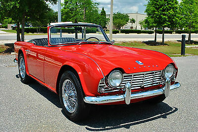 1962 Triumph Other Roadster Best to be Found Nut & Bolt Restoration Rotisserie Restored Nut & Bolt Rare The Best there is 4-Speed Numbers Match Eng