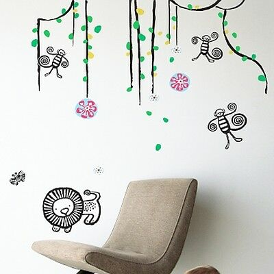 Wee Gallery Jungle Wall Graphics