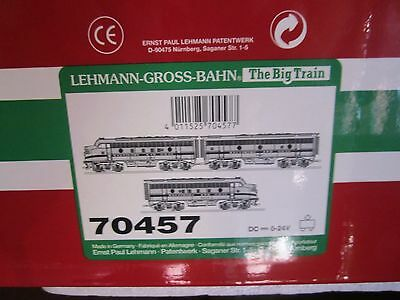 LGB G#70457 Baltimore and Ohio F7 A-B-A B&O Limited Edition Set, Colletion Item