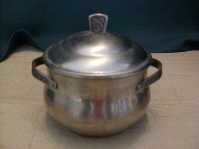 Vintage Stainless Steel Holloware Montery Pot w/ Lid - Never Used