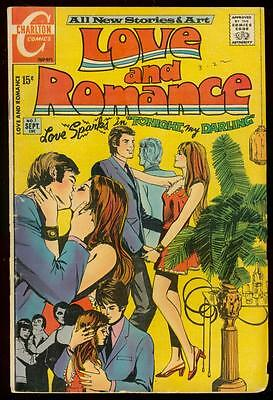 Love And Romance #1 1971-First Issue-Charlton -Swimsuit Vg