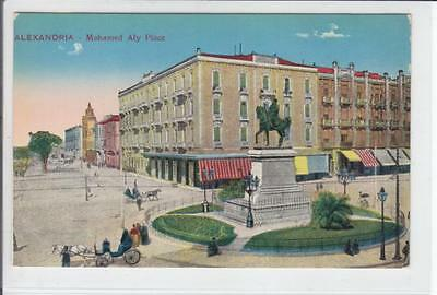 AK Alexandria, Egypt, Mohamed Aly Place, 1910