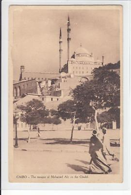 AK Cairo, Egypt, The Mosque of Mohamed Aly on the Citadel 1930