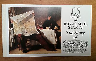Great Britain Royal Mail Postage Stamp Book Story Of The Times