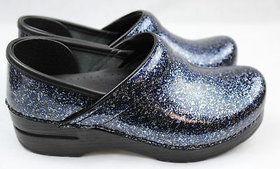 Dansko Professional Overspray Patent Leather Clogs Doctor/Nurses/Chef Shoes