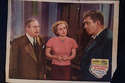 1937 Movie Picture NANCY STEELE IS MISSING Victor McLaglen Walter Connolly Peter