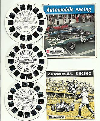 Viewmaster B 671 Automobile Racing
