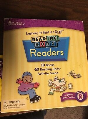 Learning Resources Reading Rods Readers Phonics Foundation 2 Complete Book Set