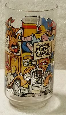 McDonald's Happiness Hotel Glass 1981 The Great Muppet Caper Movie Libbey Glass
