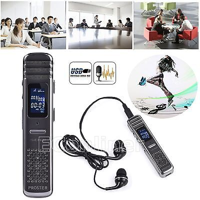 New Arrive Voice Activated 8GB USB Spy Pen Digital Voice Recorder MP3 Player