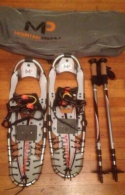 Yukon Charlie Mountain Profile snowshoes kit 8x25 grey #2