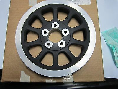 Oem Black 66 Tooth X 1.125 Rear Drive Pulley Harley  Fxd Dyna 2007 Up 40374-07