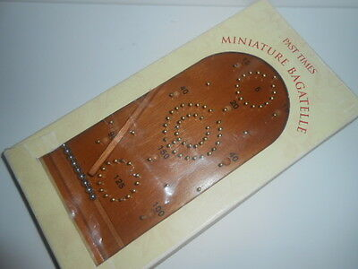 PAST TIMES - Miniature  Bagatelle Game  / NEW - SEE PHOTOS