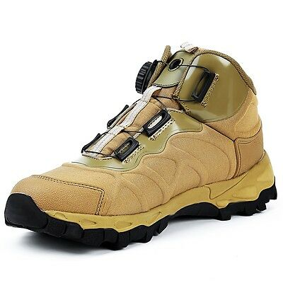 Outdoor Sports Hiking Climbing Boots Tactical Military Wearproof Shoes New Men's
